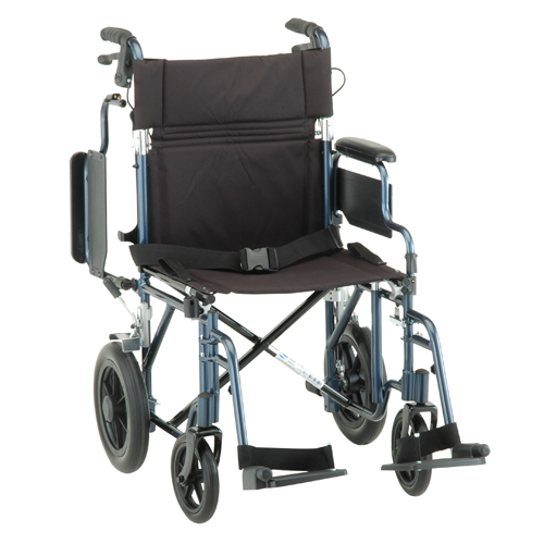 Lightweight Transport Chair with Flip-Back Arms u0026 Handbrakes  sc 1 st  Bellevue Healthcare & Nova Lightweight Transport Chair with Flip-Back Arms u0026 Handbrakes ...