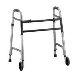 heavy duty folding walker