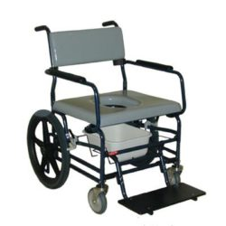 ActiveAid Bariatric Rolling Shower & Commode Chair