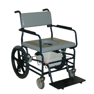 ActiveAid Bariatric Rolling Shower & Commode Chair - Bellevue ...