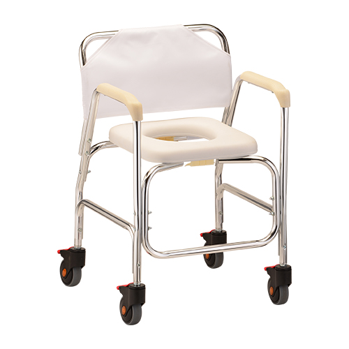 Nova Rolling Shower Chair Commode Bellevue Healthcare
