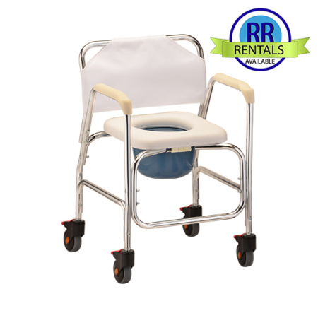 Rolling Shower Chair & Commode
