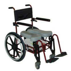 Advanced Folding Shower & Commode Chair