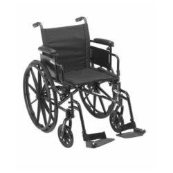 basic high strength lightweight wheelchair