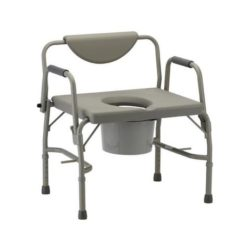 Nova Heavy Duty Drop-Arm Commode