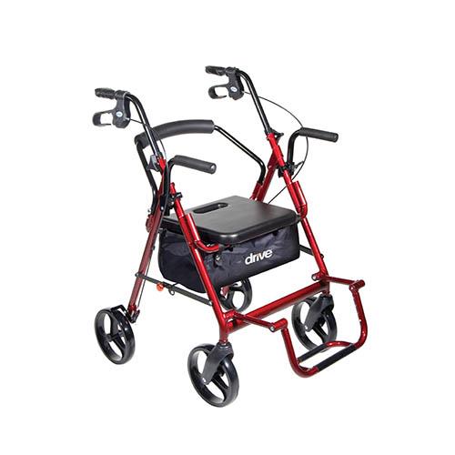 Drive Duet Transport Wheelchair Rollator Walker Bellevue