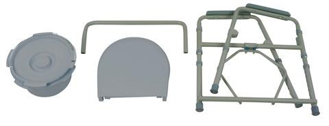 Drive Folding 3 In 1 Commode Bellevue Healthcare