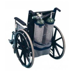EZ-Access Wheelchair Dual Oxygen Tank Pack Bag