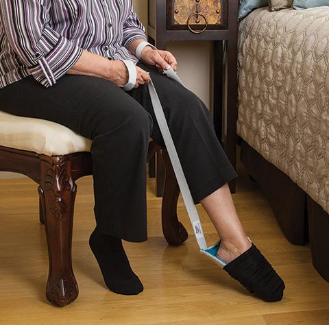 sock aid demonstration norco easy pull sock aid bellevue healthcare