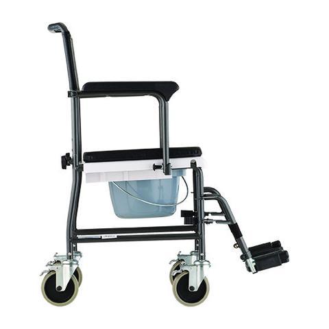 Nova Drop Arm Transport Chair Commode Bellevue Healthcare
