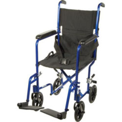 Aluminum Lightweight Transport Chair