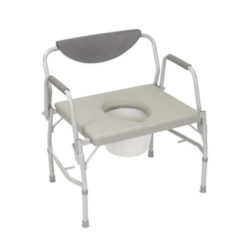 Drive Deluxe Drop Arm Bariatric Commode