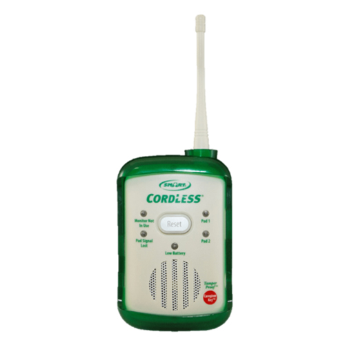 Smart Caregiver Quiet Fallguard Cordless Alarm Monitor