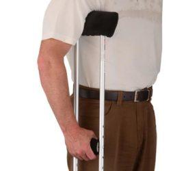 Microfiber Crutch Cover Set