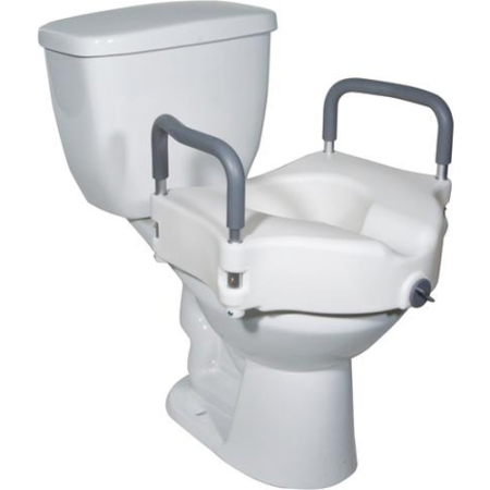 Drive Locking Raised Toilet Seat