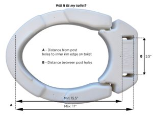 Nova Hinged Toilet Seat Riser Bellevue Healthcare