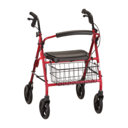 Mack Rollator Red