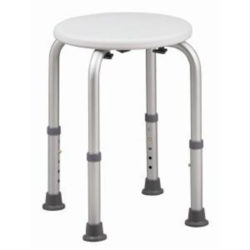 HealthSmart Adjustable Shower Stool